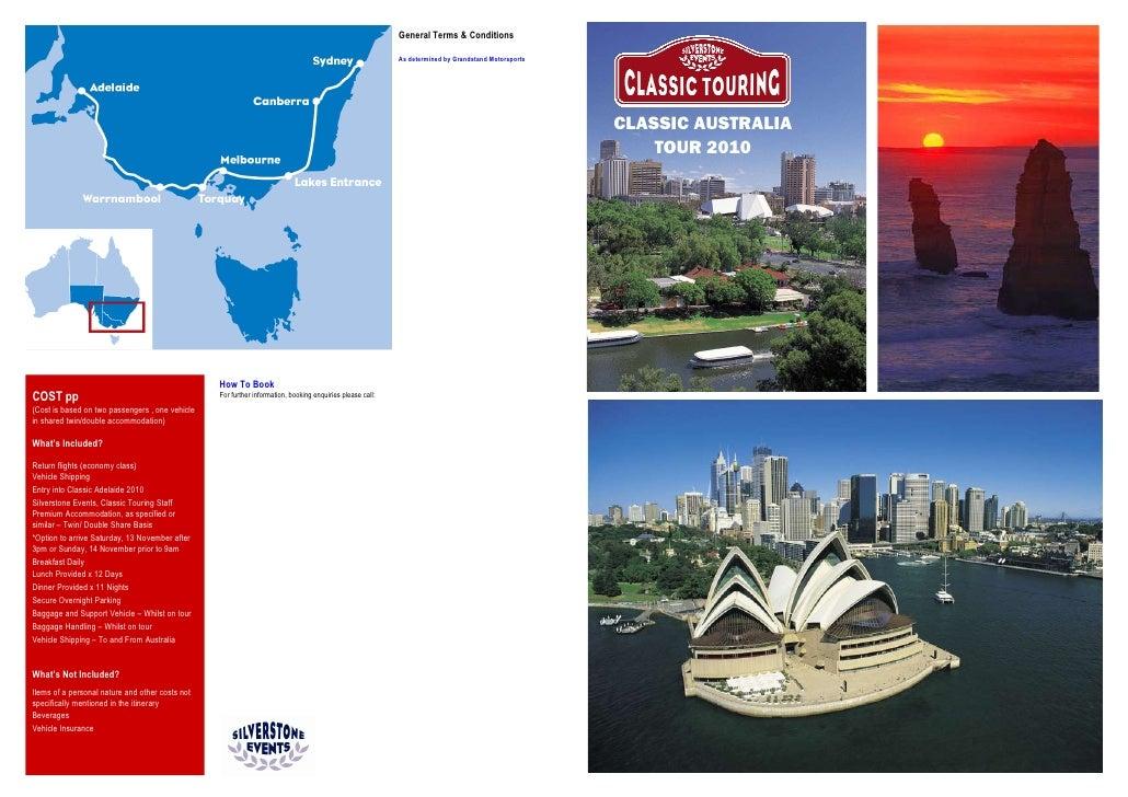 Classic Adelaide Rally & Classic Australia Tour ~ Nov  2010