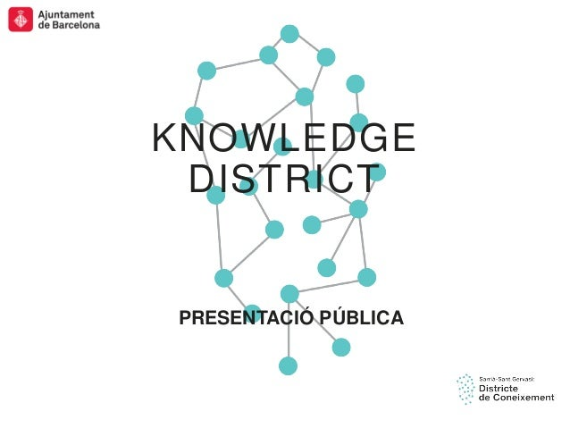 SSTG Presentació pública de Knowledge District