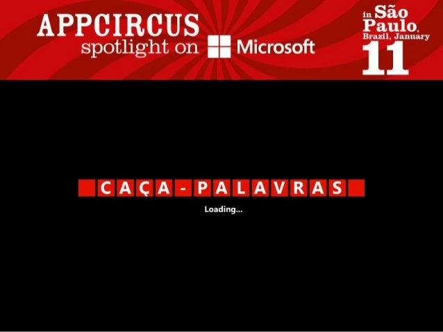Caça-Palavras for Windows Phone / Windows 8
