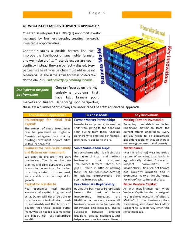 Cheetah Primary Info Q&A v1