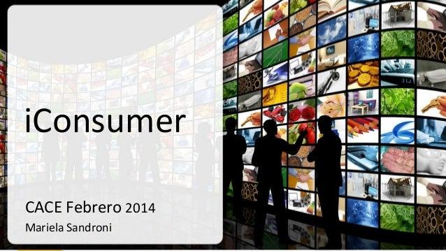 Presentación : Mariela Sandroni - Seminario: Consumidores Digitales: Oportunidades de Venta en Internet y Redes Sociales - Marzo 2014