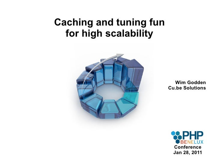 Caching and tuning fun for high scalability Wim Godden Cu.be Solutions Conference Jan 28, 2011
