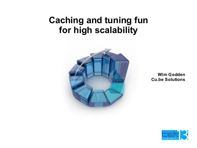 Caching and tuning funfor high scalabilityWim GoddenCu.be Solutions