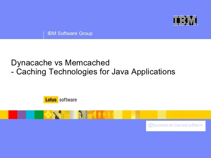 Caching technology comparison