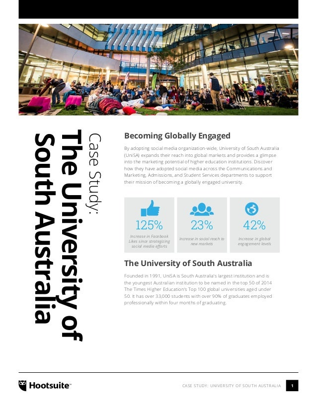 How University of South Australia Expanded their Reach into Global Markets