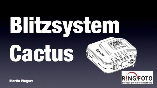 Blitzsystem Cactus Martin Wagner