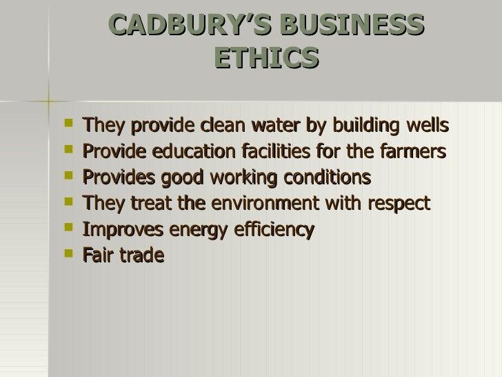 Cadbury and the Environment