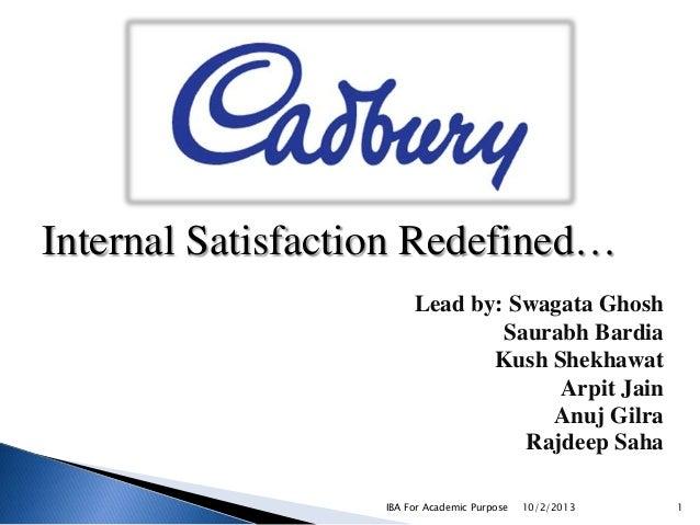 Internal Satisfaction Redefined… Lead by: Swagata Ghosh Saurabh Bardia Kush Shekhawat Arpit Jain Anuj Gilra Rajdeep Saha I...