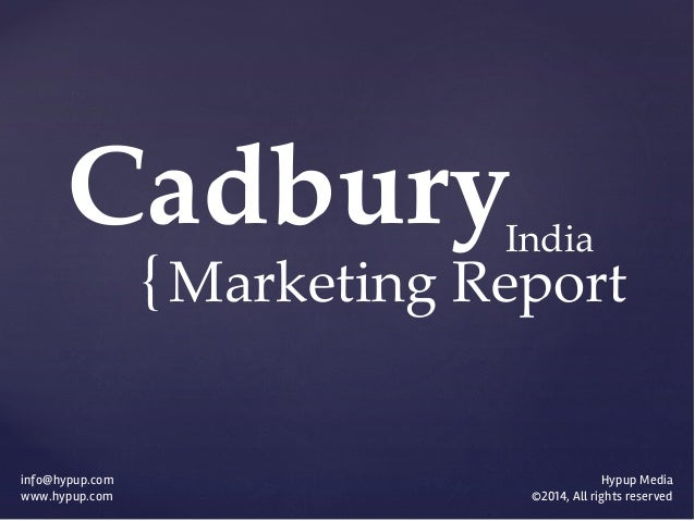 cadbury dairymilk segmentation In customer driven marketing strategy for cadbury dairy milk the main focus will be on market segmentation, target marketing and market positioning strategies here we divides the market into group of potential customers on the basis of occupation as well as the age group cadbury dairy milk divided.