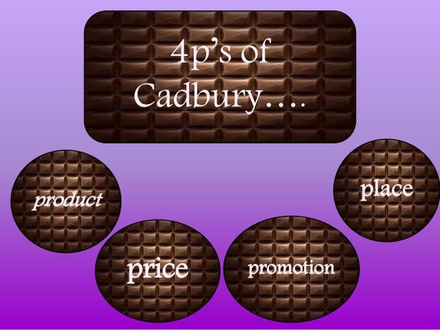 product price place promotions of cadbury Price place product promotion place 1) on which road is cadbury world situated 2) does the attraction provide parking facilities and if so at what cost 3).
