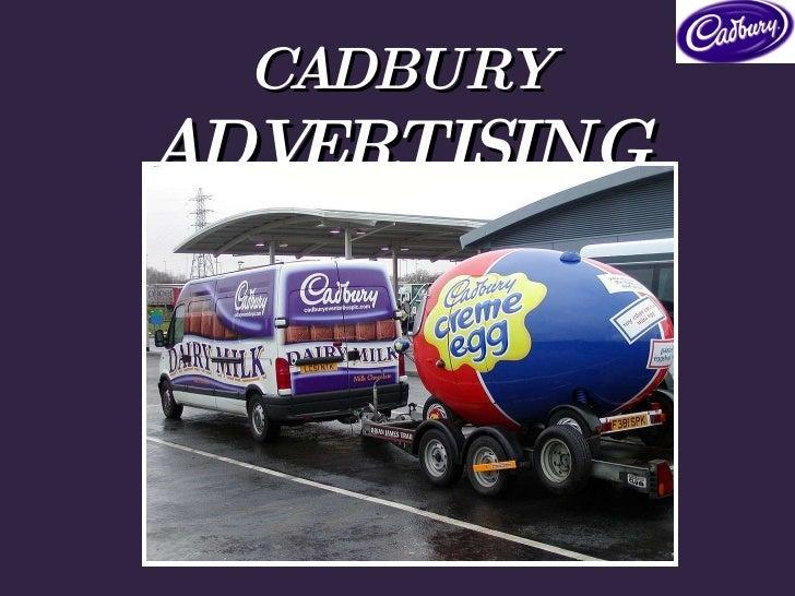 CADBURY  ADVERTISING