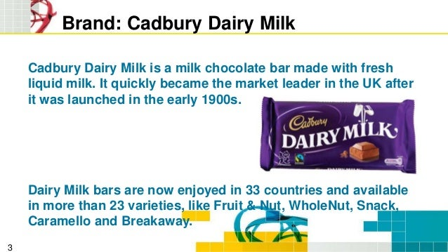 cadbury s dairy milk marketing plan To prepare a marketing plan for any brand that is  two years in the process afterrelaunch cadbury's dairy milk's market share stood at 25 percent with.