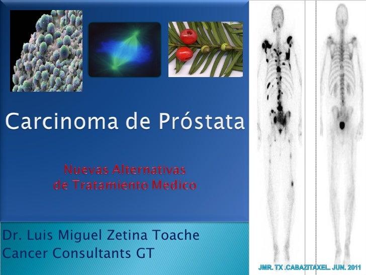 Dr. Luis Miguel Zetina ToacheCancer Consultants GT