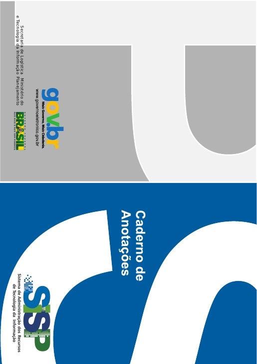 Caderno SISP 2012