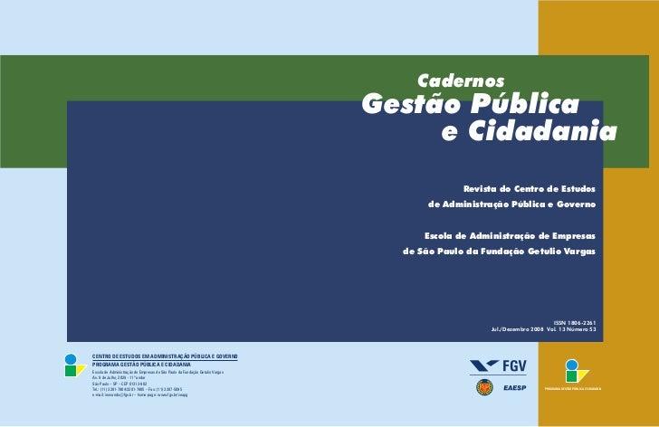 Cadernos                                                                              Gestão Pública                      ...