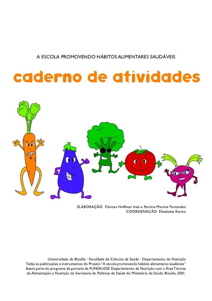 Nutrição Infantil - Caderno de Atividades