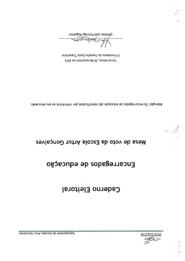 Caderno eleitoral ee   esag2