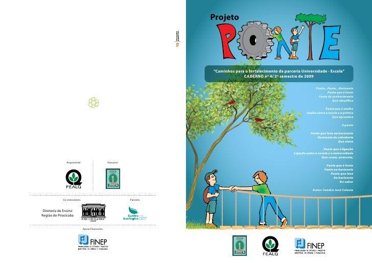 """Projeto                                                                          """"Caminhos para o fortalecimento da parcer..."""