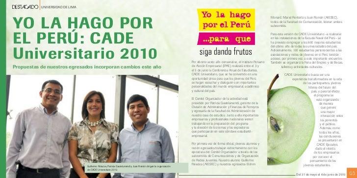 CADE Universitaria 2010