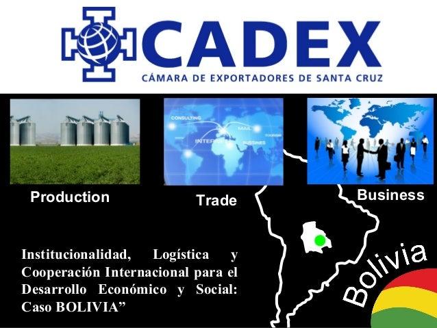 Institucionalidad, Logística yInstitucionalidad, Logística y Cooperación Internacional para elCooperación Internacional pa...