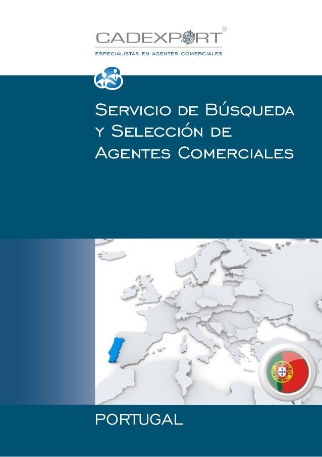 Servicio de Búsqueda y Selección de Agentes Comerciales  PORTUGAL