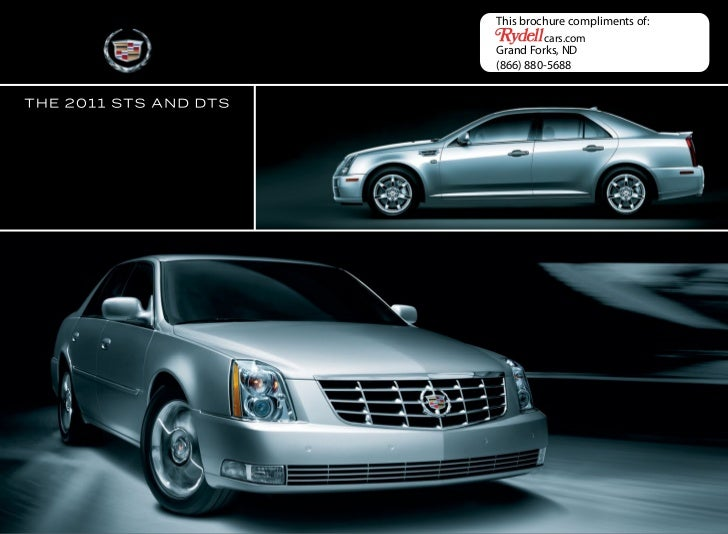 2011 Cadillac DTS in Grand Forks, ND - Rydell Chevrolet Buick GMC Cadillac