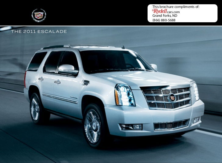 2011 Cadillac Escalade Hybrid in Grand Forks, ND - Rydell Chevrolet Buick GMC Cadillac