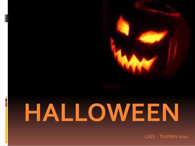 Cadi tuxpan halloween