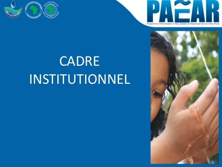 CADREINSTITUTIONNEL