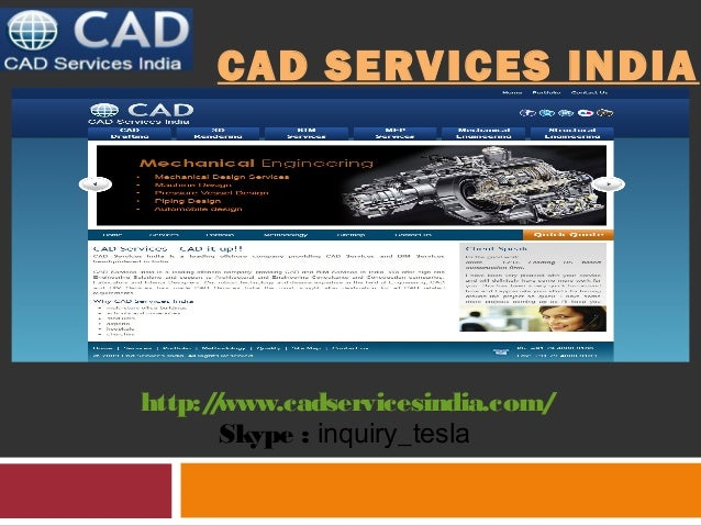 CAD Services India - One Stop Solution for All CAD Services and BIM Services
