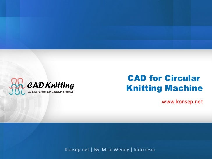 Cad untuk knitting machine v3.01 (start)