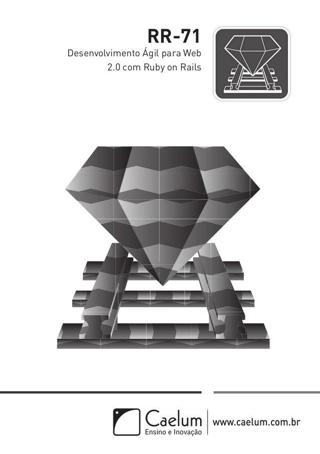 RR-71 Desenvolvimento Ágil para Web 2.0 com Ruby on Rails