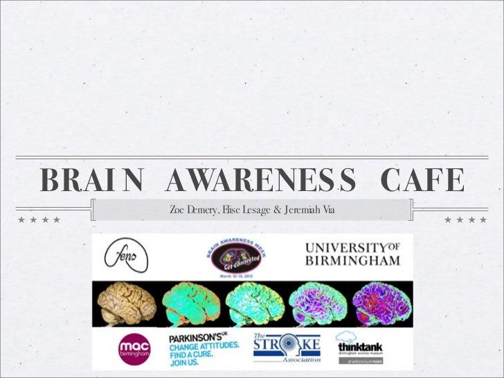 Cafe Scientifique:  the brain of artificial intelligence