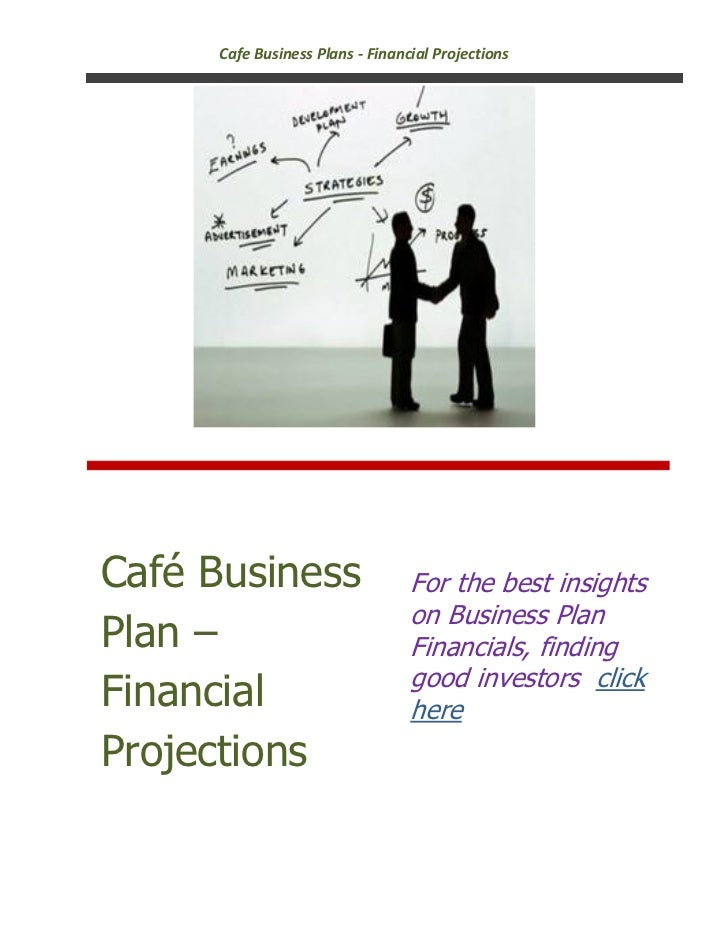 Cafe business plan - financial projections