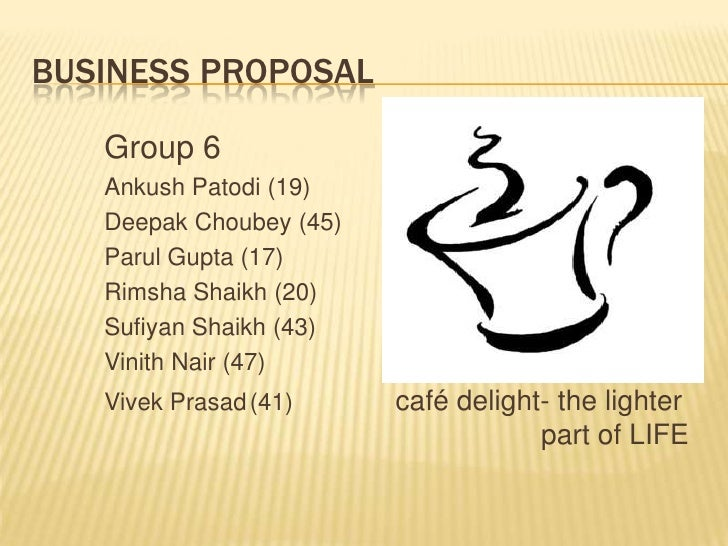 new businesss proposal