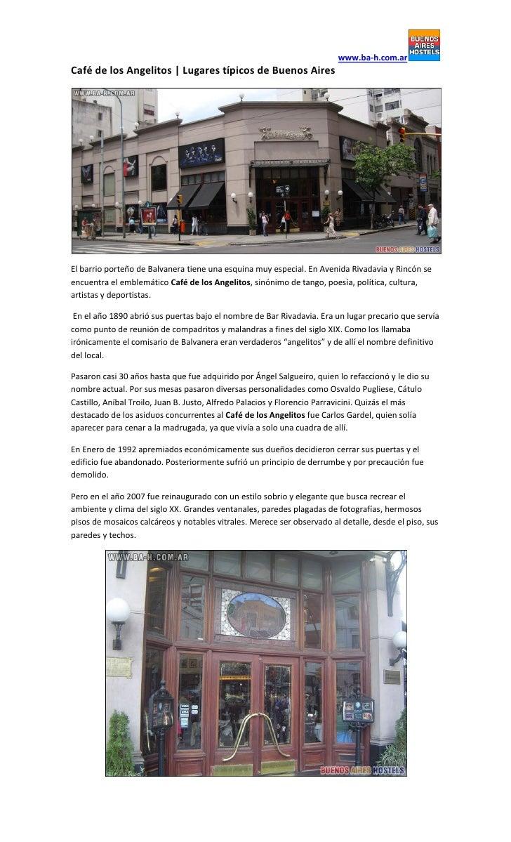 www.ba-h.com.arCafé de los Angelitos | Lugares típicos de Buenos AiresEl barrio porteño de Balvanera tiene una esquina muy...