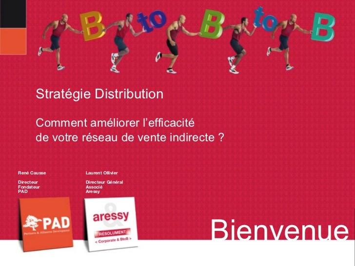 Stratégie Distribution       Comment améliorer l'efficacité       de votre réseau de vente indirecte ?René Causse     Laur...