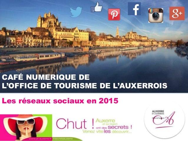 CAFÉ NUMERIQUE DE L'OFFICE DE TOURISME DE L'AUXERROIS Les réseaux sociaux en 2015
