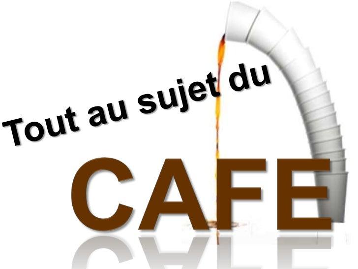 Tout au sujet du <br />CAFE<br />