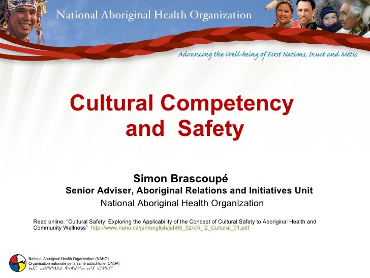 Cafe Scientifique: Cultural Competency and  Safety
