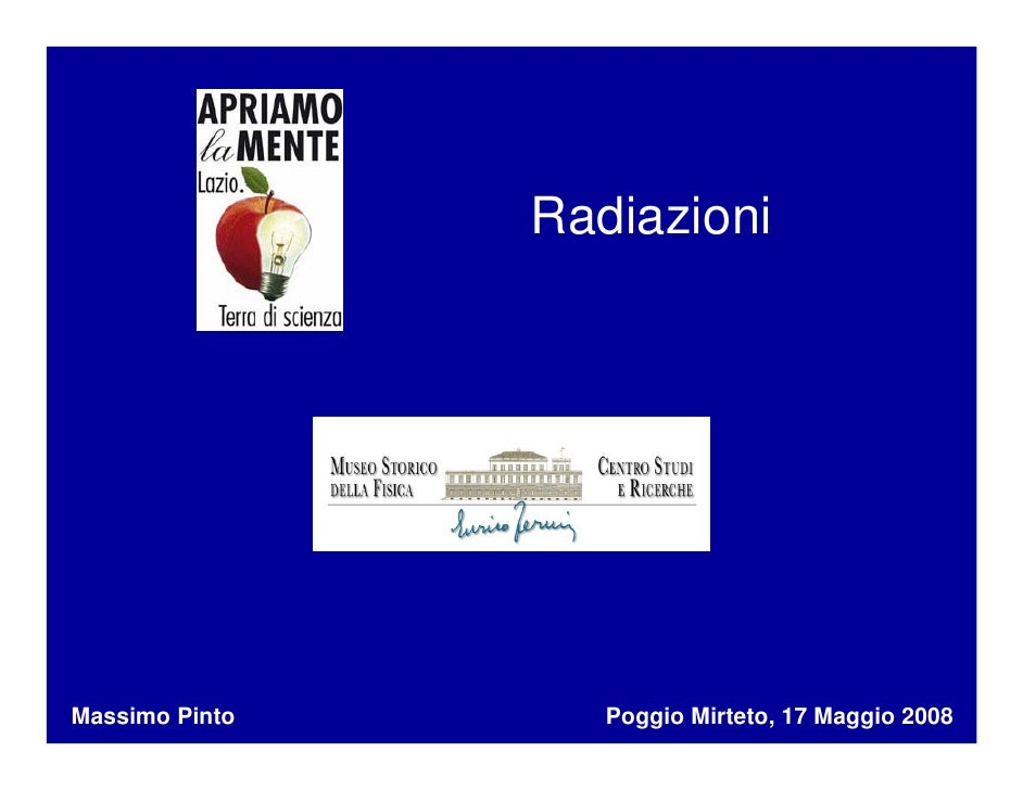 Caffe Scienza Massimo 17 5 08