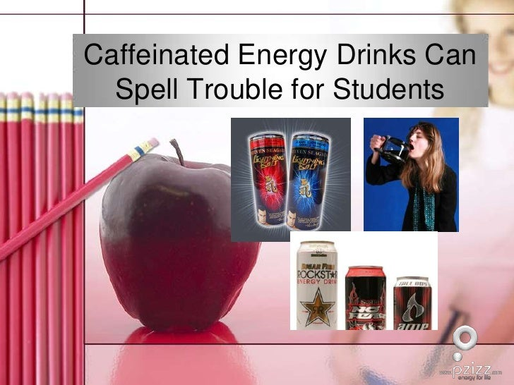 Caffeinated Energy Drinks Can Spell Trouble for Students<br />