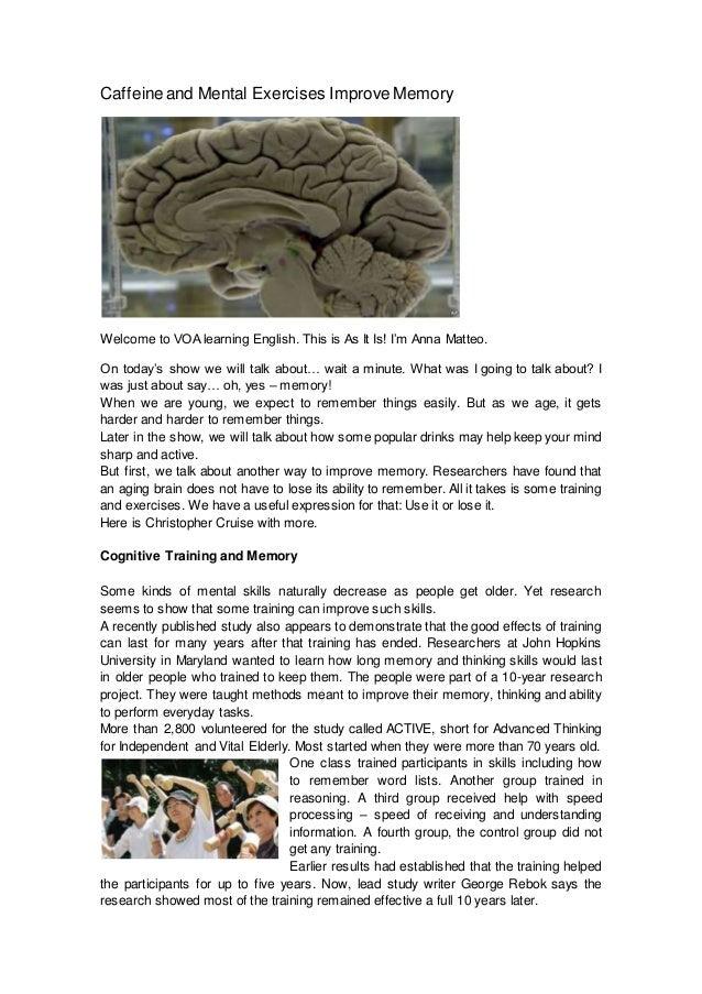 Mental exercises to improve self esteem