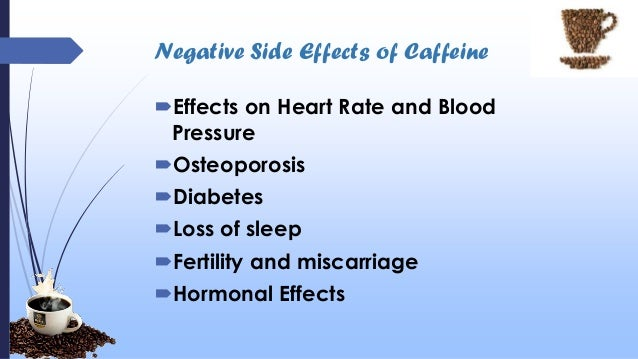 an introduction to the negative effects of caffeine