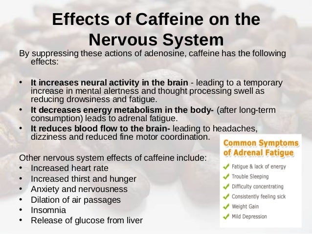 the physiological effects of caffeine and the 5 hour energy This review will focus on the effects of caffeine and caffeinated beverages on   young adults need to be cautioned about using caffeinated energy drinks in  excess and  lieberman hr, stavinoha t, mcgraw s, et al  diagnostic and  statistical manual of mental disorders, fifth edition (dsm-5), american.