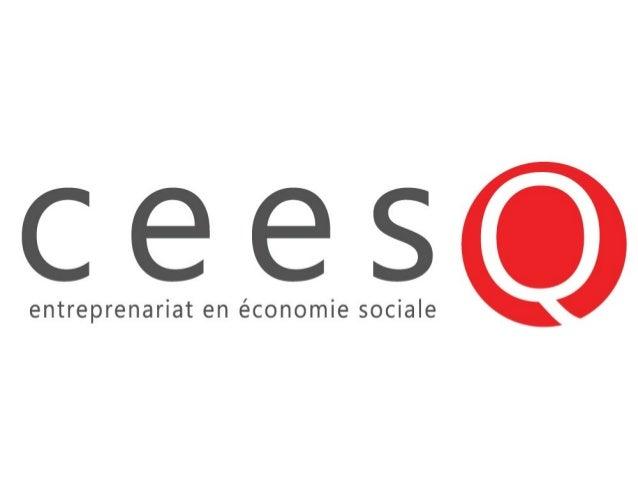 Présentation• Qui sommes-nous ?• Qu'est-ce que l'économie sociale ?• Les types de membres – coop et OBNL• Les parts – coop...