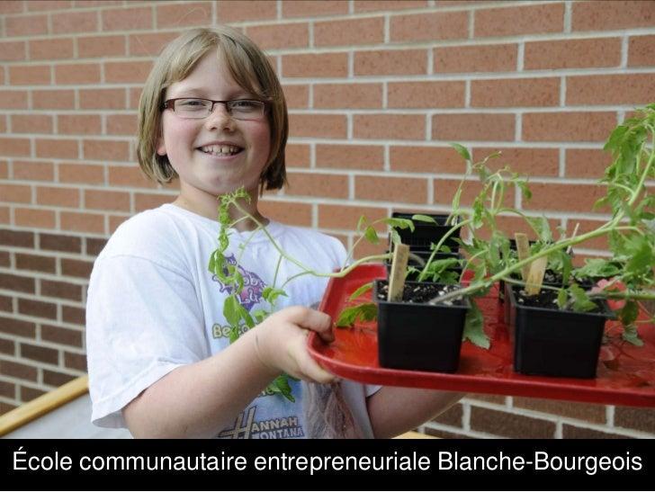 École communautaire entrepreneuriale Blanche-Bourgeois