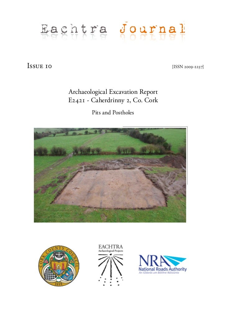 Archaeological Report - Caherdrinny 2, Co. Cork (Ireland)