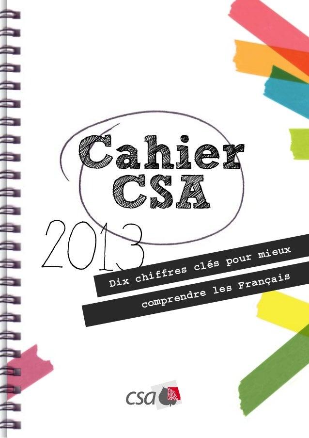 Cahier  CSA2013  Dix c        hiff res c                   lés                  e les                       pour          ...