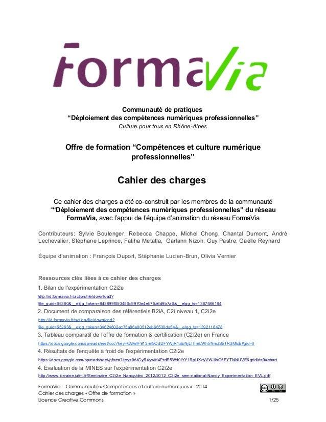 """Communauté de pratiques """"Déploiement des compétences numériques professionnelles"""" Culture pour tous en Rhône-Alpes Offre d..."""
